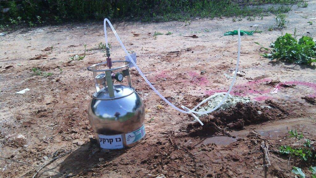 סקר גז קרקע בהרצליה סמוך לתע