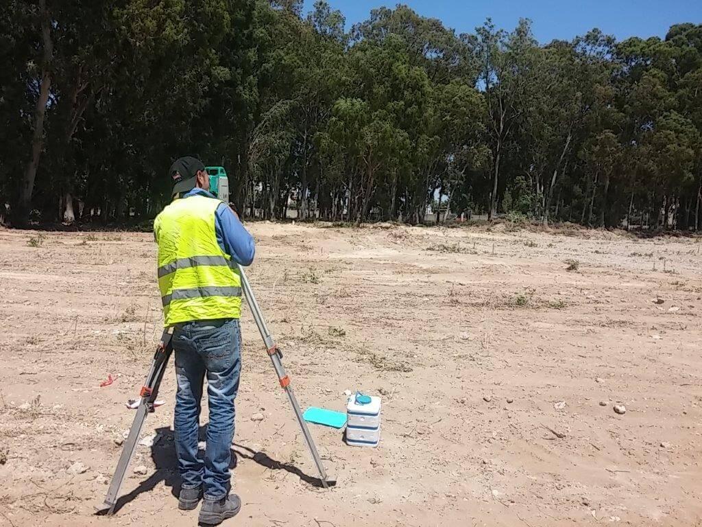 ביצוע סקר קרקע מתחם כורדני
