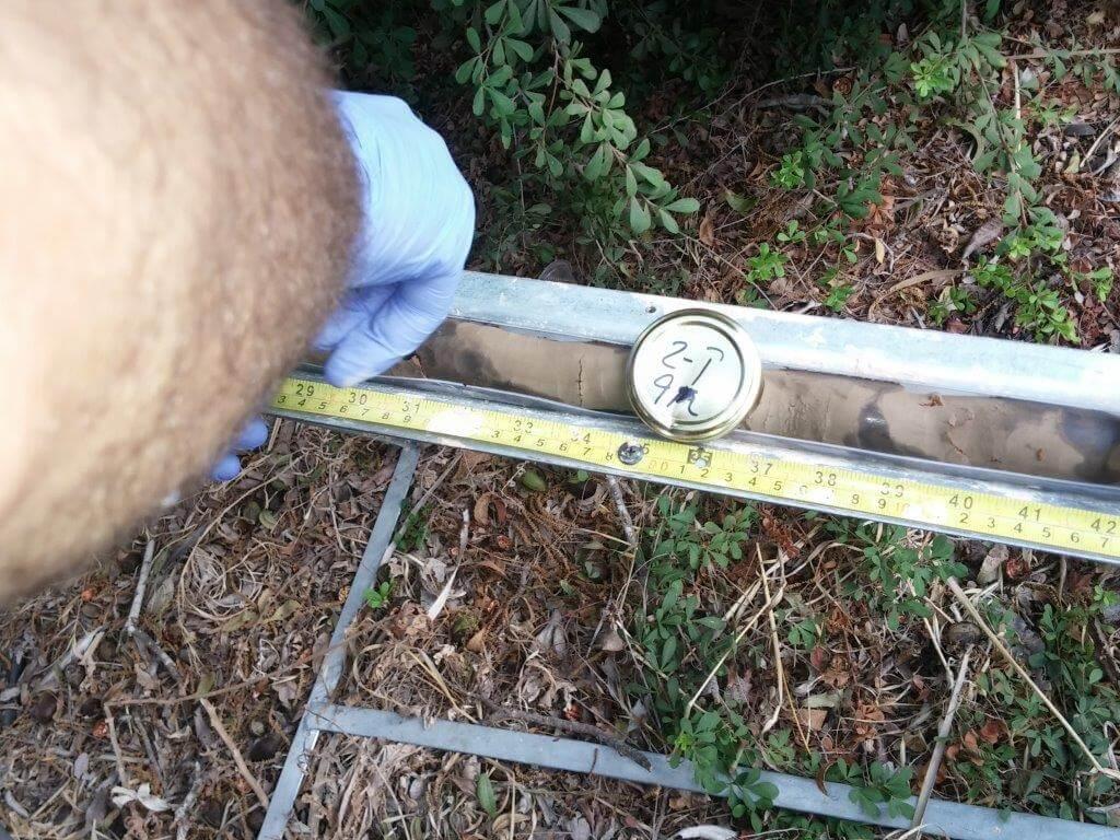 סקר קרקע בתחנת דלק בשרון